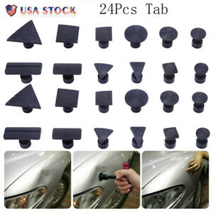 24 Pdr Tool Glue Pulling Tabs Paintless Dent Repair Hail Removal For All Puller