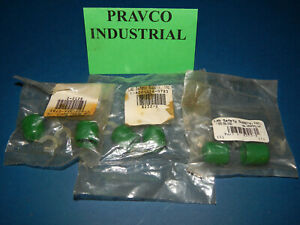 Lot Of 6 Lab Safety Supply 8252 2 Stop Plug Green 82522