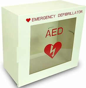 Non Alarmed Aed Defibrillator Wall Mounted Storage Cabinet 14 1 X 7 X 13 7