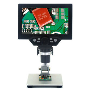 With G1200 Digital Microscope 7 Lcd 12mp 1200x 1080fhd Magnifier M4s2