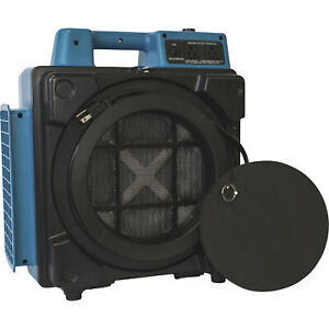 Xpower Mini Air Scrubber With Hepa Filter 550 Cfm 1 2 Hp Model X 2480