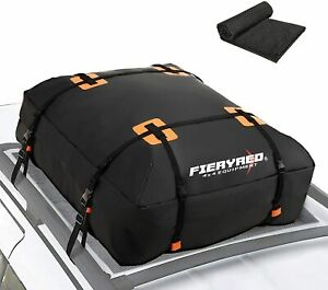 New Listingroof Bag Cargo Carrier 15cubic Ft Waterproof Rooftop Luggage Storage Soft Shell