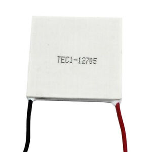 1pc Tec1 12705 12v Generator Thermoelectric Cooling Plate Module 40x40mm