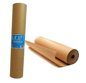 Kraft Brown Wrapping Paper Roll 18 X 1 200 100 Ft 100 Recyclable Craft
