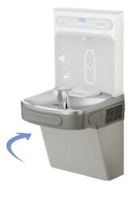 Elkay Lzs8wsl Drinking Fountain Light Gray Granite Cooler Only No Filter