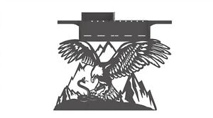 Grill Eagle And Snake Fire Pit Dxf Files For Plasma Laser Waterjet Or Cnc Diy