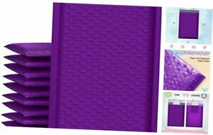 Bubble Mailers 6x10 Inch 25 Pack Poly Padded Envelopes Small 6x10 25pc Purple