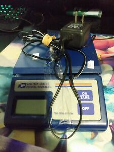 Usps United States Postal Service Digital 10lb Max Scale Up To 10 Lbs Blue
