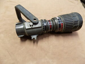 Akron Akromatic I 1 5 Nh Automatic Monitor pipe Nozzle Volume Control 100 200gpm
