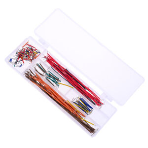 140pcs Solderless Breadboard Jumper Cable Wire Kit Box Diy Shield For Jfh1