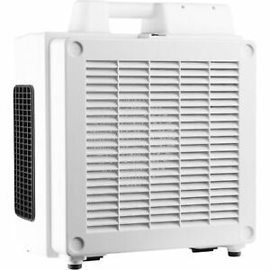 Xpower Hepa Air Scrubber W 4 stage Filter Set 600 Cfm 1 2 Hp Model X 3780