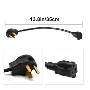 Heavy Duty Welder 14awg Adapter Cord 50 Amp 110v To 220v Extension Adapter Cable