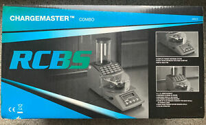 RCBS Chargemaster Combo Complete Powder Dispenser System 98923. Used Once $379.99