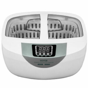 Vevor Ultrasonic Cleaner Ultrasonic Jewelry Cleaner Machine 2 5l 40khz Frequency