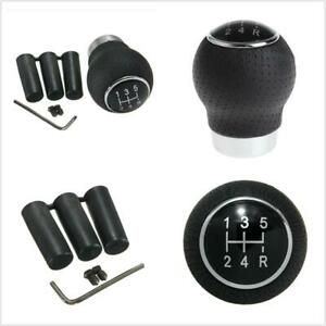 Aluminum Manual Car Gear Shift Knob Shifter Lever Auto Replacement Parts 5 Speed