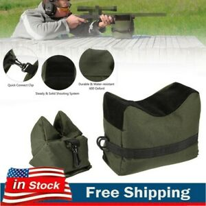 Shooting Hunting Range Sand Bag Combo Set Rifle Gun Bench Rest Stand Front amp;Rear $11.49