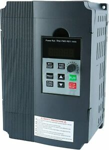 220v 2 2kw 3hp Variable Frequency Drive Converter For Motor Speed Control New