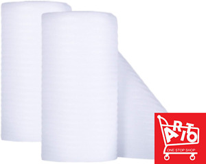 Foam Wrap Roll Packaging Moving Shipping Fragile Cushion Padding 2pack 72 Feet