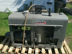 Lincoln Sa 200 Welder Red Face Well Maintained