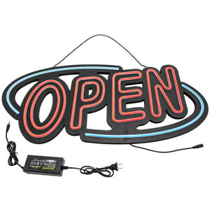 1pcs New Neon Open Sign Light 60w Led Light Clubs Large For Businesses