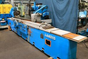 18 Swg 96 Cc Landis Hydraulic Tbl Auto Infeed Plunge Sparkout Od Grinder