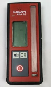 Hilti Rotating Laser Receiver Metric Inches Level Leveling Tool Led Screen Pra20