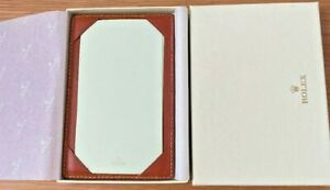 Rolex Novelty Rolex Memo Pad Leather Cover With Box Gift