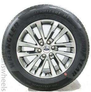 4 New Ford Expedition F150 20 Factory Oem Wheels Rims Goodyear Tires 10144