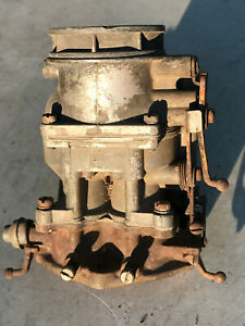Ford Script Stromberg 94 Carburetor Good Used Core Carb A