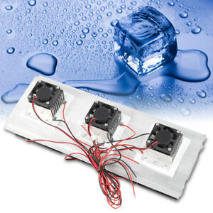 3 chip Refrigeration Thermoelectric Cooler Diy Kit Cooler Device Semiconductor