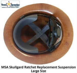 MSA Skullgard Fas Trac III Replacement Suspension Large Size $17.00