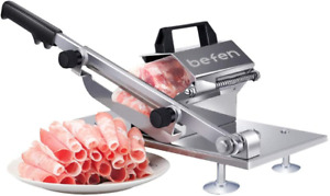 Manual Frozen Meat Slicer Meat Cutter Beef Mutton Roll Food Slicing Machine