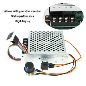 Dc Motor Speed Controller 10 50v 40a 5000w Pwm Control Switch Governor Variable