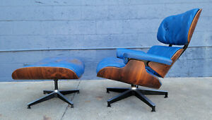 Early Eames 670 671 Lounge Chair Ottoman