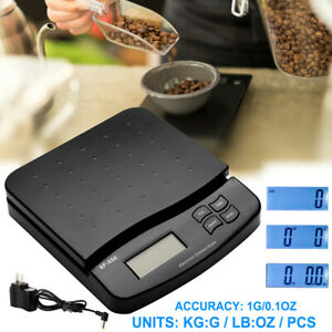 66lb X 0 1oz Postal Scale Digital Lcd Shipping Packages Weigh 30kg 1g Adapter