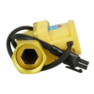 Water Pump Automatic Control Flow Switch Copper Sealing Ring Practical Sensor