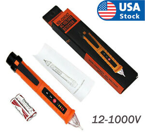 12 1000v Ac Non contact Lcd Electric Test Pen Voltage Digital Detector