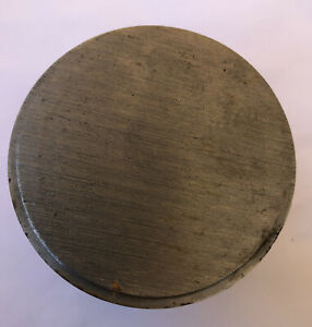 5 Pound 11 Ounce Steel Round Bar 3 Inches Diameter And 2 7 8 Inches Long