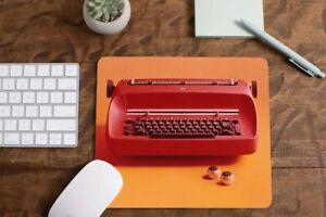 Red Ibm Selectric Typewriter Design Brand New Mouse Pad Home Office Desk Decor