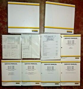 New Holland Boomer 3040 3045 3050 Tractor Repair Service Manual 12x12 Or Hst Oem