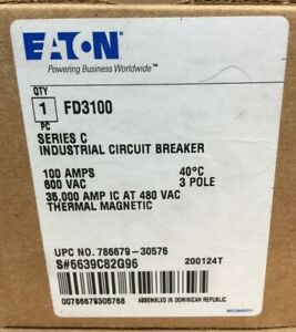 Houston Stock New Eaton Fd3100 Type Fd 100a Bolt on Free 2 Day Air Buy Now Only