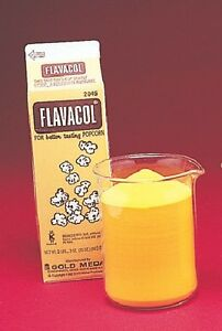 Flavacol Buttery Popcorn Popping Salt 4 Single Cartons