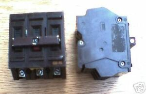 New Wadsworth 15 A 3 Pole Cat A315 Circuit Breaker