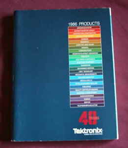 Vintage Tektronix 1986 Catalog