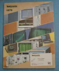 Vintage Tektronix 1979 Catalog