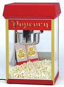 2408 8oz Fun Pop Popper Popcorn Machine A Good Dependable Low cost Machine