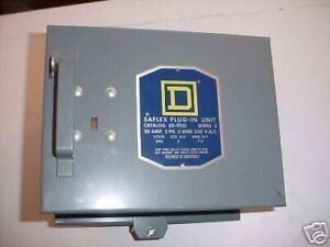 Sq d 30 Amp 240 V 3 Pole Fusible Bus Duct Switch new