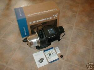 Grundfos Stainless Steel 3 45 1 Hp Booster Pump 230v