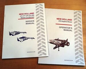 New holland 479 Haybine Mower Conditioner Operator s And Service Repair Manual