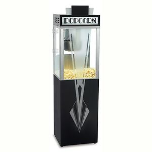 New Art Deco 6 Oz Popcorn Popper Machine And Base By Gold Medal Products Co